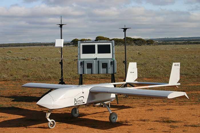 Fixed wing UAV