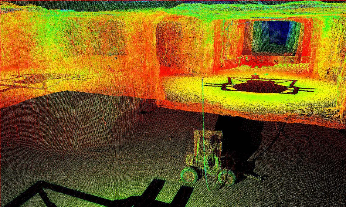Maptek - Forge - I-Site - Survey solution for underground