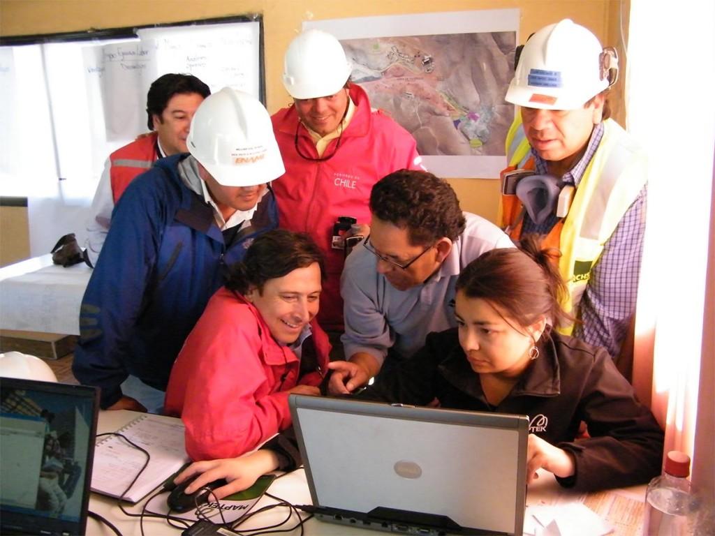 Maptek Chile Mine Rescue