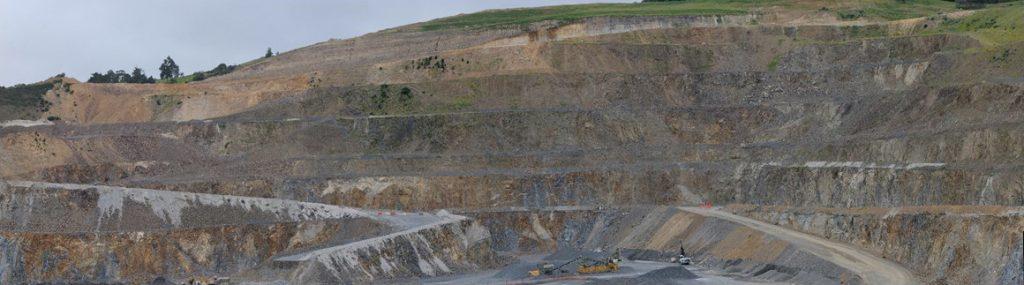 Maptek_Gaia_Quarry Highwall