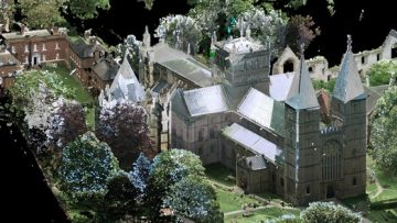3D scan of Southwell Cathedral