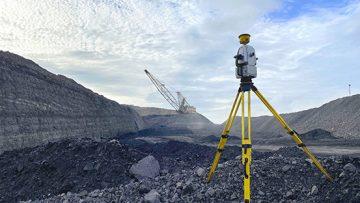 A Maptek Laser Scanner on a mine site.