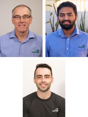 Mike Stimson, Rahul Suhane and Steve Sullivan.